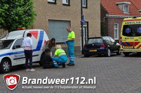 Jongen valt van fiets aan het Laageinde Waalwijk