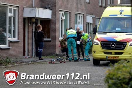Jongen raakt gewond na val van skateboard aan de Looierij Waalwijk