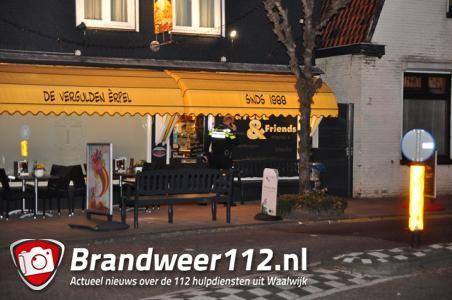 Overval bij cafetaria De Vergulden Erpel in Waalwijk; gevluchte daders aangehouden