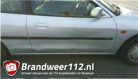 Getuigen gezocht: Bestuurster gaat er vandoor na ongeval aan de Oprijlaan Waalwijk