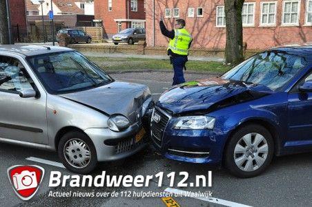 1 gewonde bij aanrijding aan de Floris V-laan Waalwijk
