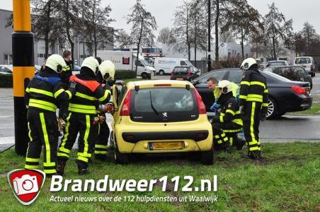 Ongeval met beknelling aan de Kleiweg Waalwijk