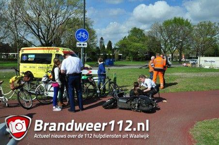 Bestuurster komt ten val met snorscooter op het Halve Zolenpad Waalwijk