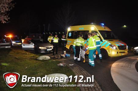 Fietser geschept in Waalwijk