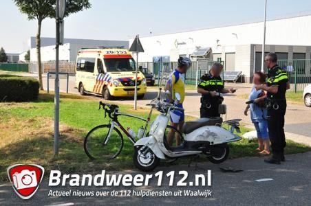 Meisje raakt gewond aan de Sluisweg Waalwijk