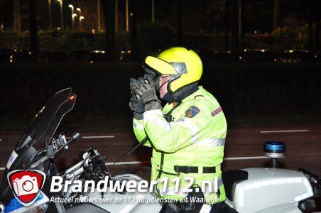 Verkeers controle aan de Ambrosiusweg Waalwijk