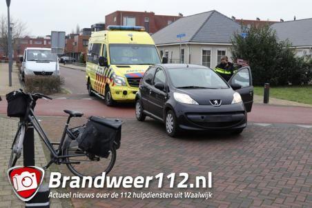 Vrouw op fiets aangereden aan de Cornelis Verhoevenstraat Waalwijk