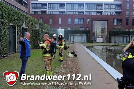 Brand bij Het Koetshuis blijkt oefening aan het Koetshuislaan Waalwijk