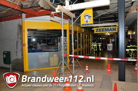 UPDATE: Lekkage Waalwijks winkelcentrum; 'het is één grote ellende'