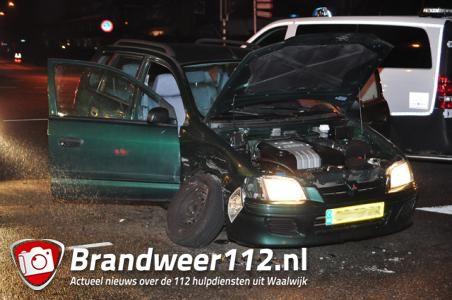 Ongeval op kruising Ambrosiusweg in Waalwijk