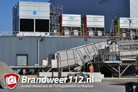 Ammoniak alarm in bedrijf aan de Zijlweg Waalwijk