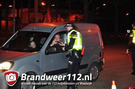 2 bestuurders met slok te veel op aangehouden aan de Akkerlaan Waalwijk