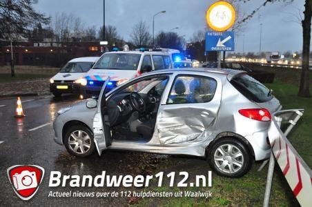 Ongeval op de Taxandriaweg Waalwijk