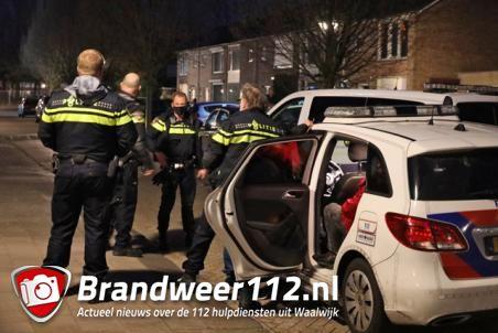 Vier personen aangehouden na brandstichting aan de Venkelstraat Waalwijk