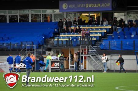 Voetbalspeler raakt gewond tijdens training aan de Akkerlaan Waalwijk