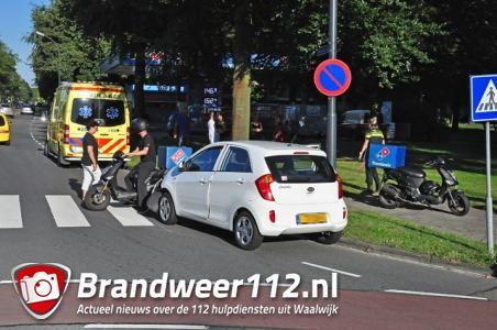 Domino's Pizza-bezorger meters meegesleurd door auto: zwaargewond aan arm