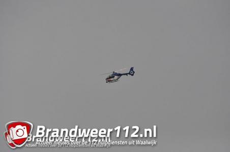 UPDATE: Politiehelikopter boven Waalwijk en omgeving Tilburg
